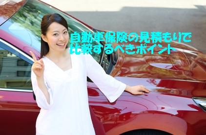 自動車保険比較見積もり