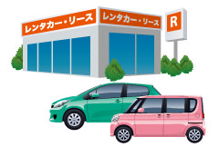 レンタカー費用サポート